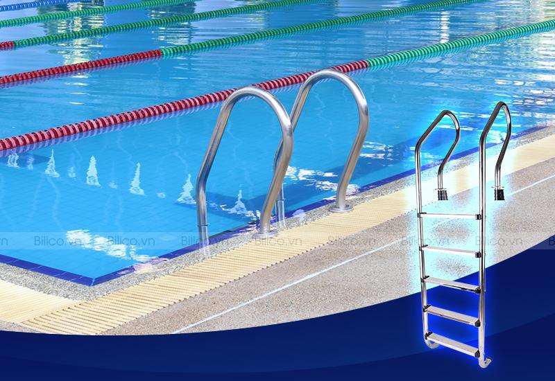 Ứng dụng thang bể bơi SF515