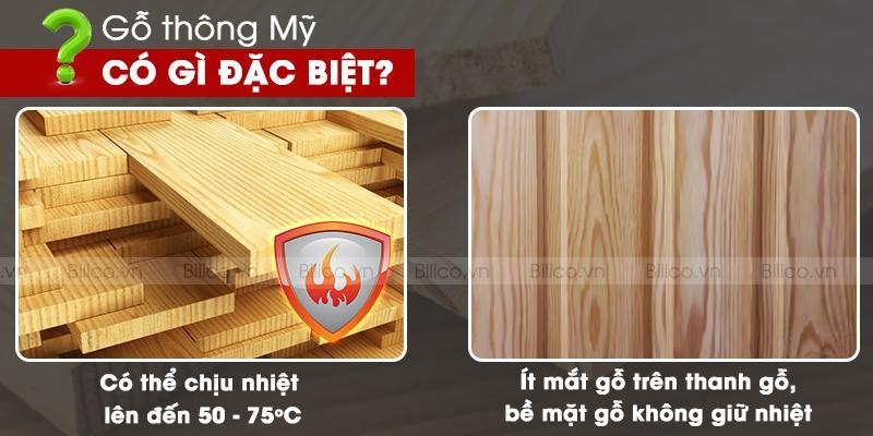 gỗ thông mỹ có gì đặc biệt