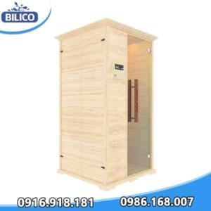 phòng xông hơi khô đóng sẵn gỗ thông Phần Lan 3.6kW