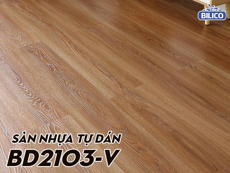 sàn nhựa giả gỗ tự dán BD1023V