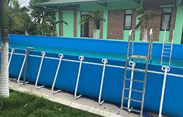 bể bơi bạt kích thước 8.1 x 18.6 (m)