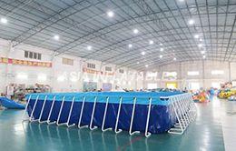 bể bơi bạt kích thước 9.6 x 15.6 (m)