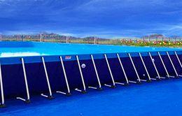 bể bơi bạt kích thước 9.6 x 18.6 (m)