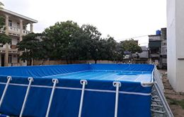 bể bơi bạt kích thước 5.1 X 8.1 m