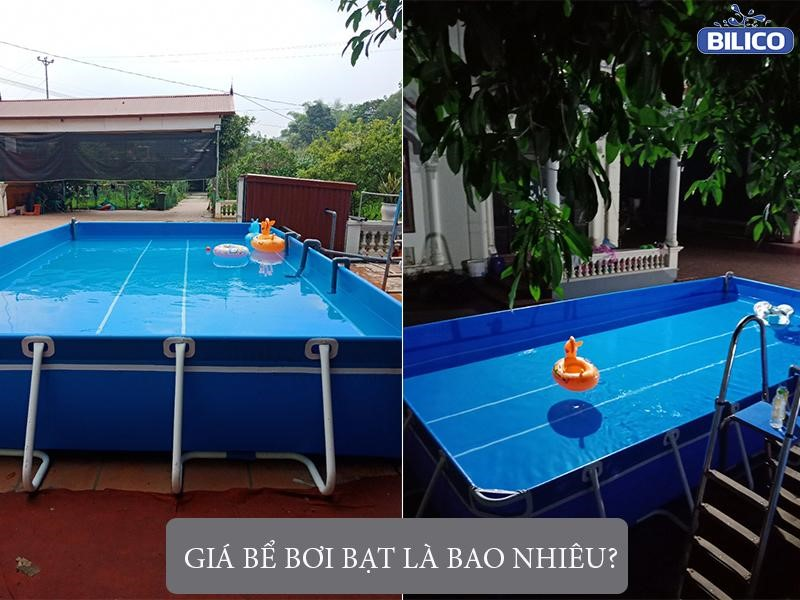 giá bể bơi bạt