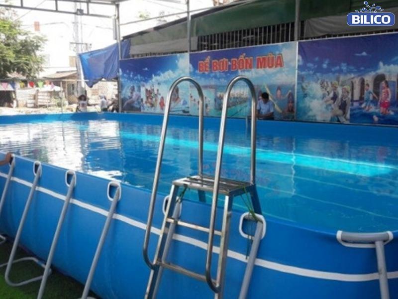 công trình bể bơi bạt chị chi - Tuyên Quang