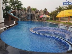 Công trình bể bơi tại thủ đô Viêng Chăn - Lào